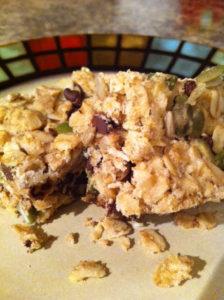 granola bars - mine