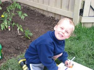 Westley in Garden
