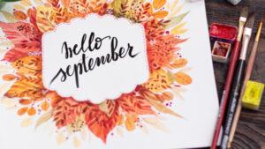 September New beginnings